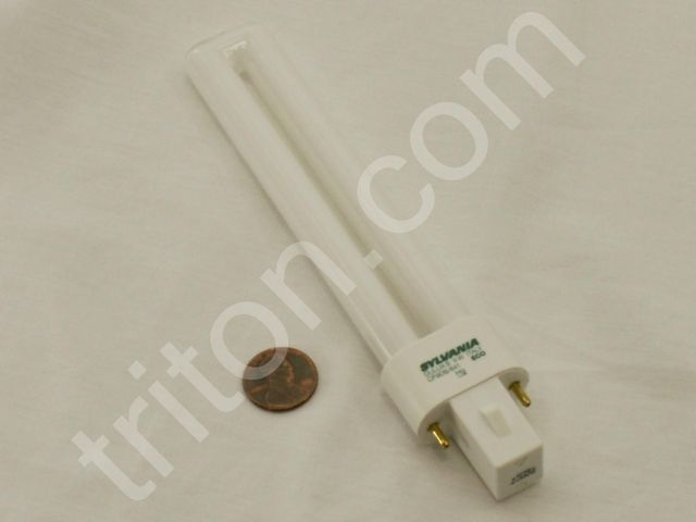 Bulb 9W Compact Fluorescent (Cool White G23 Base)