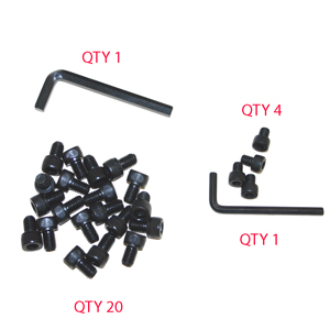 ACCESSORY, BOLT AND HEX SET, PEDESTAL, GT3000
