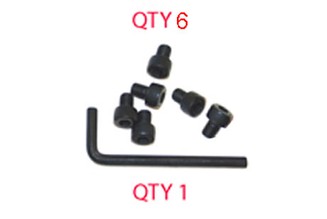 ACCESSORY, BOLT AND HEX SET, WALL MOUNTING BRACKET