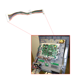 Tranax Mainboard to LCD Cable For MBe4000