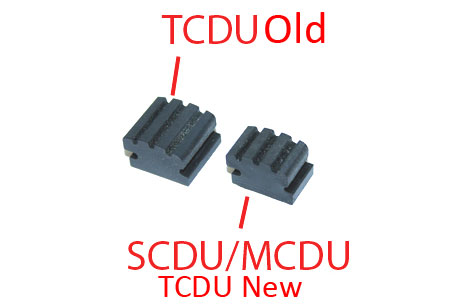 CDU, NOTE PICKUP RUBBER, TCDU
