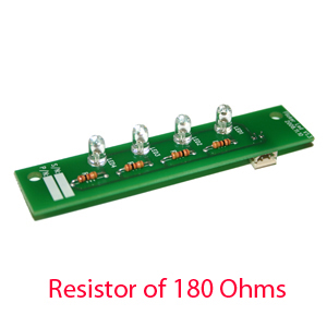 COMPONENT, FLICKER, 180 OHMS
