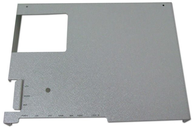 Hantle / Tranax LCD/Control Panel Cover Bracket For x4000