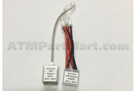 ATMPartMart SPR Adapter Kit RJ11 to RJ45 Compatible w/ Hyosung Machines