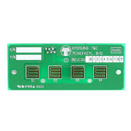 Hyosung Function Key PCB Only, Left
