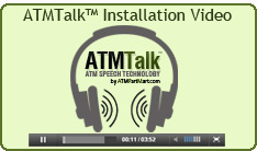 ATMTalk Installation Video