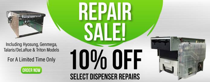 Dispenser Repair Sale