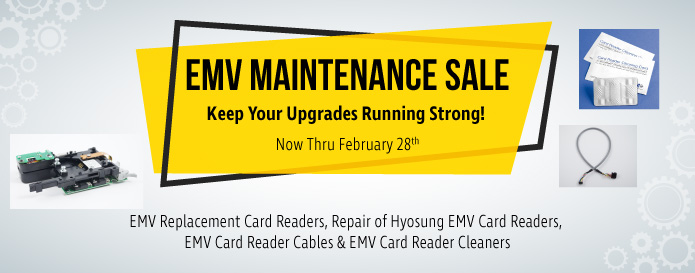 EMV Maintenance Sale