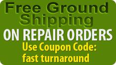 Free Return Shipping on Repairs