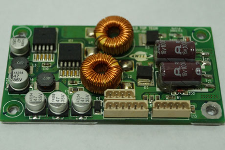 Repair of DCDC Converter (switching converter 24V-12V 5V output)