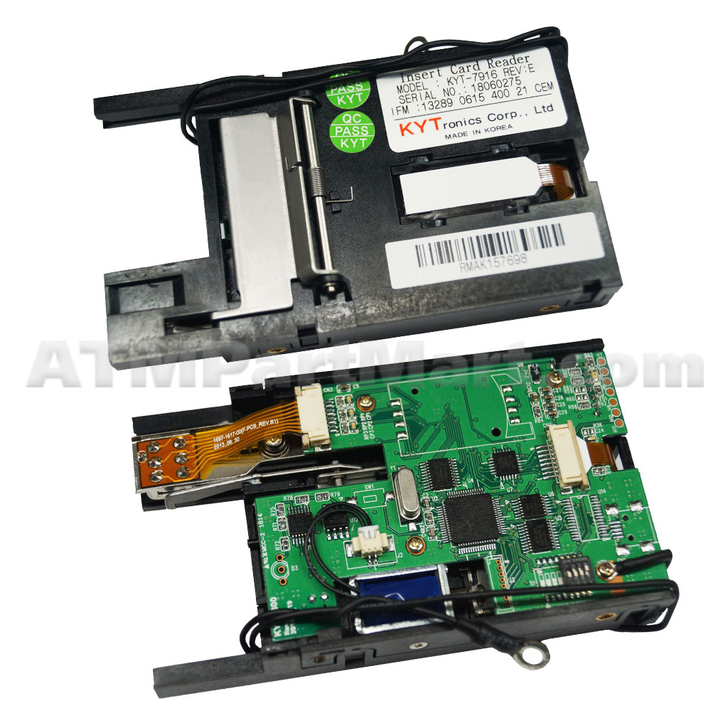 Repair of Genmega KYT-7916 EMV Card Reader
