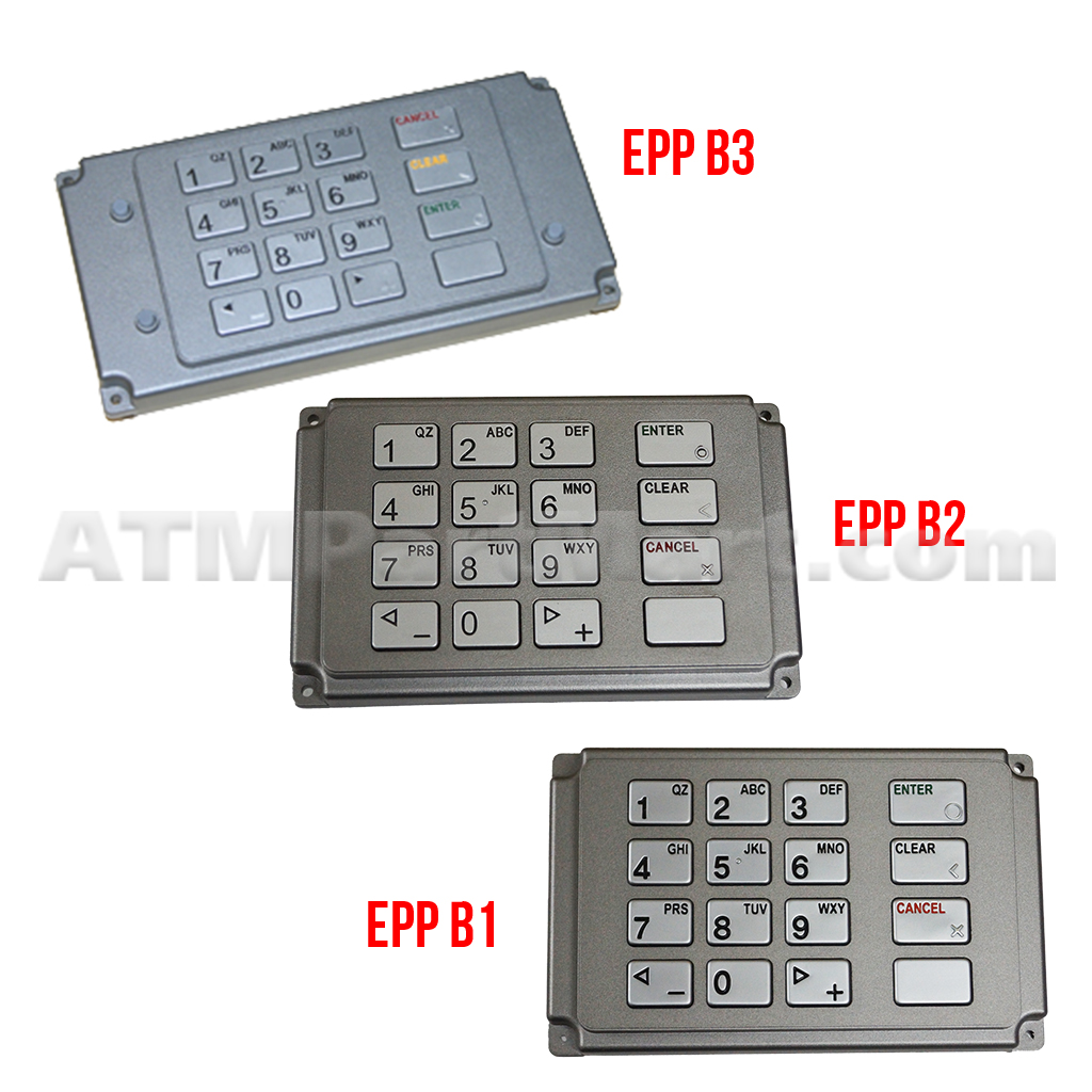 Repair of Genmega EPP B1, B2, B3 Keypad