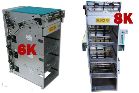 Refurbishment of Hyosung / Tranax 6K - 8K Note Dispenser, New Belts if Needed