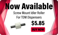 TDM Screw Mount Idler Roller