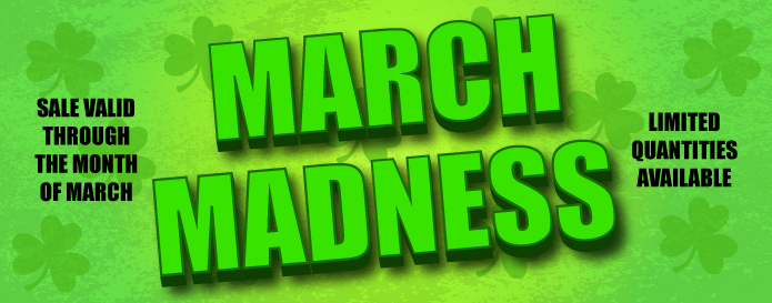 MARCH MADNESS SALE